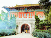Small Chinese Buddhist Temple at Po Lin Monastery — Stock Photo