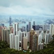Royalty-Free Stock Photo: Skyline of Hong Kong City from the Peak