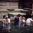Holy spring water in tirta empul — Foto de Stock