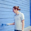 Smiling painter — Stock Photo #19167041