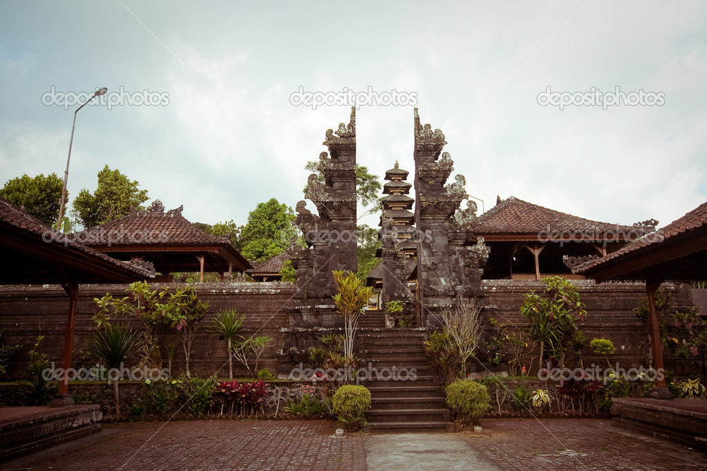 Pura Besakih, is Bali's largest and most important place of worship. — Stock Photo #19383353