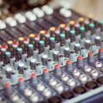 DJ mixer — Stock Photo