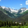 Caucasus Mountains. Region Dombay — Stock Photo #24206941