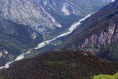 Las montañas del cáucaso. región dombay — Foto de Stock