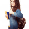 Smiling student woman — Stock Photo #25615343