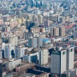 Airview panorama of Beijing, China - Stock Photo