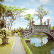 Tirtaganggwater palace on Bali island, Indonesia — Stock Photo #27293987
