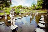 Tirtagangga water palace on Bali island, Indonesia — Stock Photo