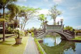 Tirtagangga water palace on Bali island, Indonesia — Stock Photo