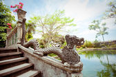 Tirtagangga water palace on Bali island, Indonesia — 图库照片