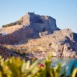 Greek islands - Rhodes, Lindos bay — Stock Photo #27416449