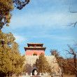 Ming Dynasty Tombs in Beijing, China — Stock Photo