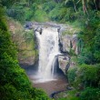 Waterfall in tropical forest in Bali — Stock Photo