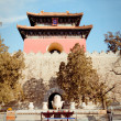 Ming Dynasty Tombs in Beijing, China — Stock Photo #34603545