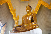 Golden Buddha Statue at Wat Traimit in Bangkok — Zdjęcie stockowe