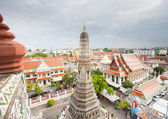 Temple Wat Arun in Bangkok — 图库照片