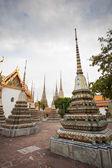 Tailandés templo wat pho en bangkok — Foto de Stock