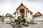 Wat Suthat Thepwararam in Bangkok — Stock Photo