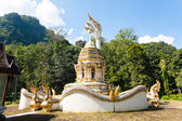 Temple in Chiang Dao, Thailand — Stockfoto