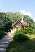 Temple in Chiang Dao, Thailand — Foto Stock