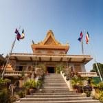 Постер, плакат: OunaLom Temple contains an eyebrow hair of Buddha Cambodia