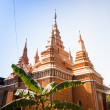 Stock Photo: OunaLom Temple contains eyebrow hair of Buddha. Cambodia