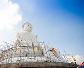 The marble statue of Big Buddha in Phuket — Stock Photo