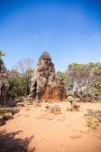 Prasat Banan temple in  Battambang, Cambodia — Stock Photo