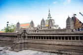 Miniature copy of Angkor Wat Temple in Grand Royal Palace, Bangk — Stock Photo