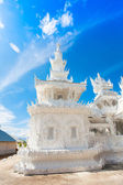 Detail of  Wat Rong Khun, in Chiang Rai province — Stock Photo