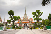 Temple near Wat Arun in Bangkok — Photo