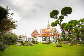 Temple near Wat Arun in Bangkok — Foto de Stock