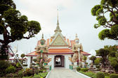 Temple near Wat Arun in Bangkok — 图库照片