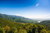 Village Thaton in the Thailand, airview — 图库照片