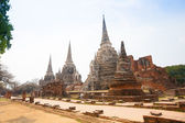View of Wat Phra Si Sanphet in Ayutthaya Thailand — Stock Photo