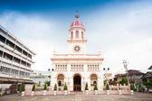 Chrám v bangkoku, thajsko — Stock fotografie