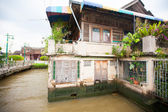 アジアにおける住宅のタイでは、貧しい貧しい生活 — ストック写真