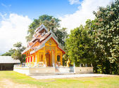 Temple in Thailand near Mae Hon Song — Stockfoto