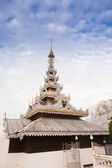 Temple in  Mae Hon Song, Thailand — Stock Photo
