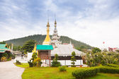Temple in  Mae Hon Song, Thailand — Stockfoto