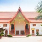 Buddhist temple in Vientiane, Laos. — Stock Photo