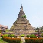 Buddhist temple in Vientiane, Laos. — Stock Photo #47575829