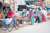 VIETNAM, MEKONG DELTA  JAN 28: The unidentified vietnamese peopl — Stock Photo