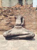 Temple  wat Mahathat in Ayutthaya historical park — ストック写真