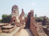 Chrám wat mahathat v ayutthaya historický park — Stock fotografie