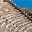 Ancient amphitheater at Kourion, Cyrpus — Stock Photo #12859691