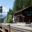 Swiss country railway station — Stock Photo #12859784