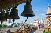 Zvony v Izmailovskij Kremlu, Moskva, Rusko — Stock fotografie