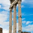 Stock Photo: Temple of Castor and Pollux, Foro Romano, Roma