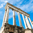Stock Photo: Temple of Saturn, Foro Romano, Roma
